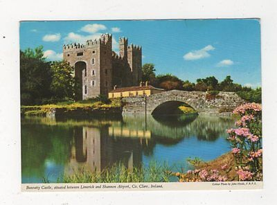 Bunratty Castle Co Clare Ireland 1982 Postcard 874a