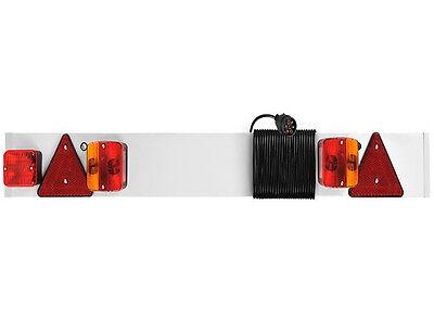 Anhänger-Lichtleiste 1,37m Lichtbalken Rücklicht Nebelleuchte Bremslicht Blinker