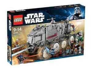 Rare New In Original Sealed Box LEGO Star Wars 8098 Clone Turbo Tank (#8098)