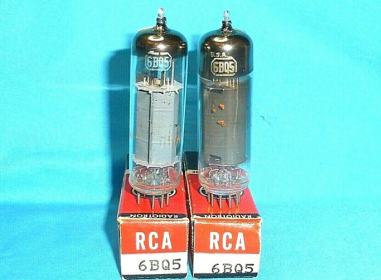2 RCA 6BQ5 Vintage Electronic Tubes - $9.95