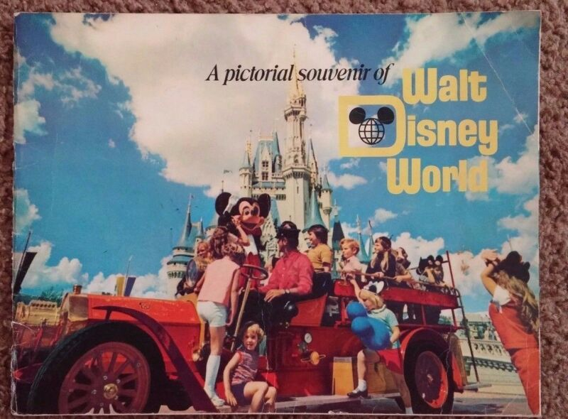 A Pictorial Souvenir Of Walt Disney World Vintage 1970s