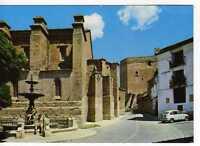 Postal Mora De Rubielos (teruel) Fuente De La Iglesia Y Al Fondo El Castillo. -  - ebay.es