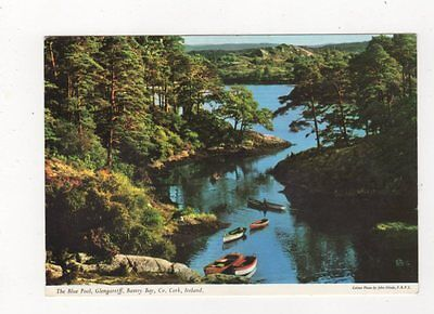 The Blue Pool Glengarriff Bantry Bay Co Cork Ireland 1966 Postcard 886a