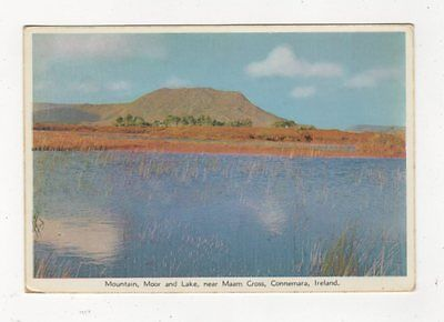 Maam Cross Connemara Ireland Old Postcard 454a