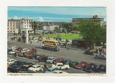 Eyre Square Galway Ireland 1976 Postcard 985a