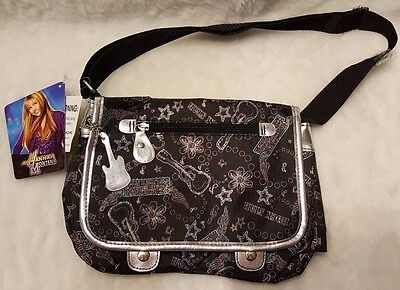 Hannah Montana NWT Multi Color Floral/Guitar/Words Shoulder Bag/Purse/Handbag Hannah Montana Purse Handbag