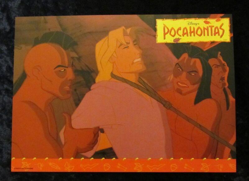 Pocahontas  lobby card  # 7 - Walt Disney