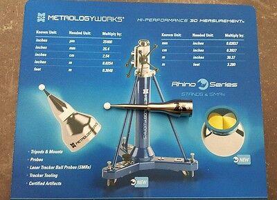 Probe M8 Thread For Hexagon Romer Arms 6mm Zircon Ball 50.8mm Carbide Extended