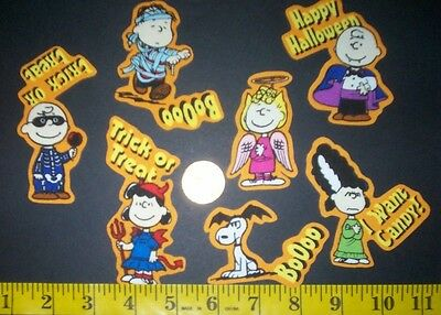 New! Cool! Peanut Snoopy Halloween IRON-ONS FABRIC APPLIQUES - Halloween Iron Ons