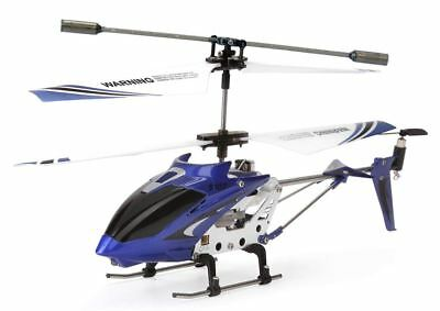 Best Syma R/C Helicopter with Gyro Blue Rechargeable Remote Control S107G 3