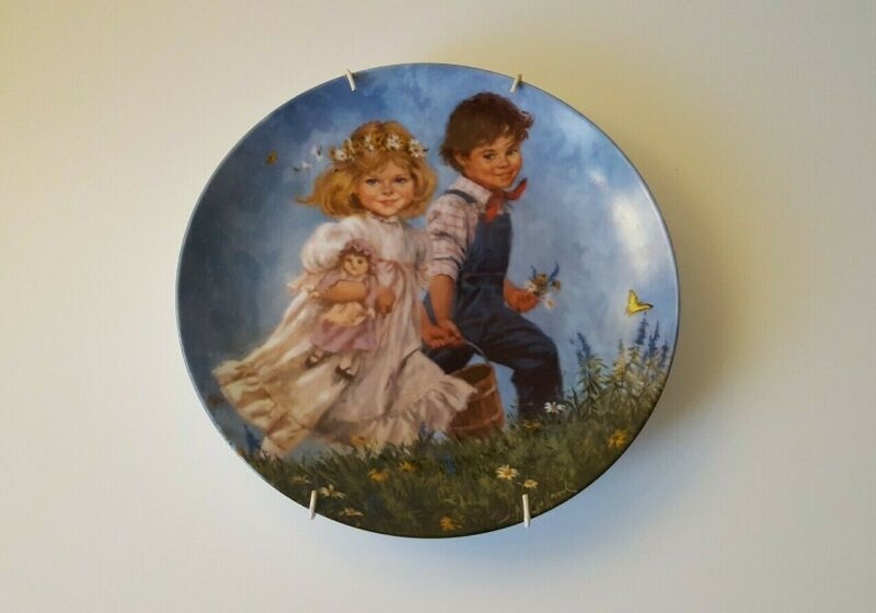 Jack and Jill Limited Edition Decorative Plate, Reco, USA, 1986, pre-owned