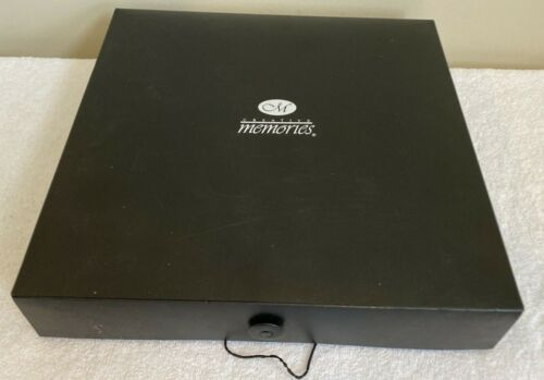 "Creative Memories Power Sort Layout Box Used40 Pc,12"" x 12"" Dividers, Scrapbook"