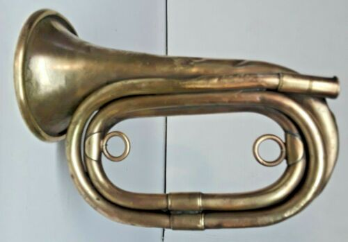 1917 Original WWI US Army Millard PHILA. Depot Spec 1152 Bugle