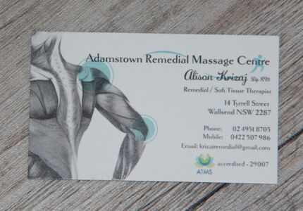 ARMC (adamstown remedial massage centre) Wallsend Newcastle Area Preview
