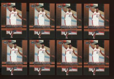 2003 Upper Deck Rookie Exclusives #1 LeBron James RC Rookie RC Lot of 8