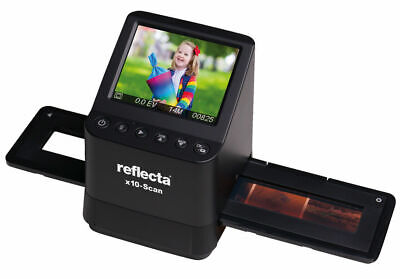 reflecta Dia-/Negativscanner x10-Scan, 14 Megapixel, Vorschaudisplay 8,9 cm (3,5