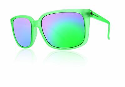 Electric Venice Sunglasses Apple Green with Grey Green Chrome Lenses (Electric Venice Sunglasses)