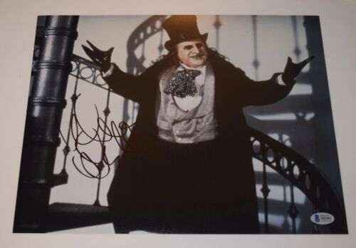 Danny Devito Signed Autograph 11x14 Photo Batman Returns Penguin Beckett BAS COA