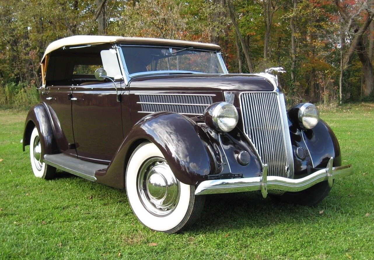 1936 Ford Phaeton  tunning Time Capsule 1936 Ford Phaeton 3400 Miles With All Original Interior
