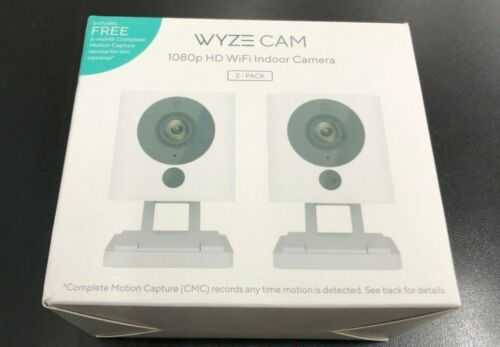 Wyze WYZEC2CMC Wireless Indoor Network Security Camera 2-PACK