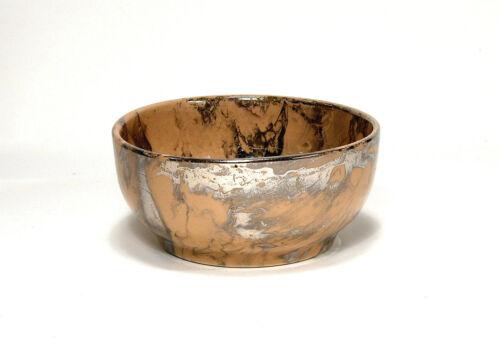 Vintage Sascha Brastoff Mid-Century Surf Ballet Ceramic Dip Bowl