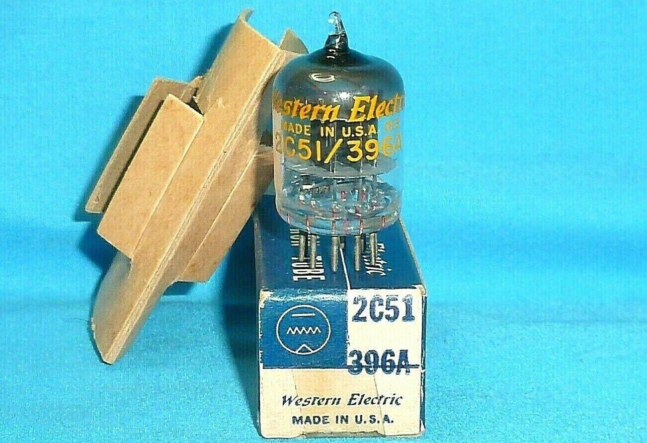 Western Electric 396A/2C51 NOS/NIB - $42.00