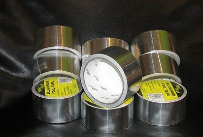 Brand New Aluminum Foil Heat Shield Tape 1.88 X 26 Ft. Fast Shipping