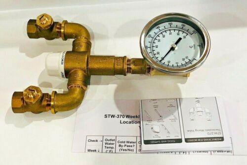 Speakman STW-370 Safe-T-Zone Thermostatic Eyewash Mixing Valve - 9.7 GPM