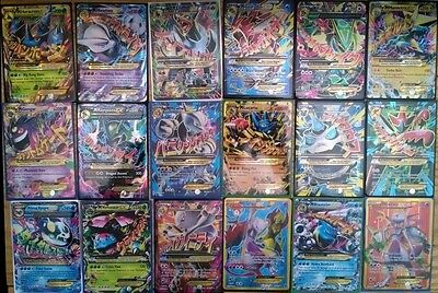 POKEMON 10 CARD LOT! MEGA, PRIMAL, SECRET, FULL ART OR EX! ALL RARES!!! + 1 PACK