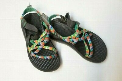Chacos ZX1 Ecotread Camper Multicolor Girl's Sandals Youth 2 EUC Good - Camper Girl