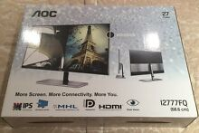 "27"" AOC 1080p IPS MONITOR I2777FQ St Agnes Tea Tree Gully Area Preview"