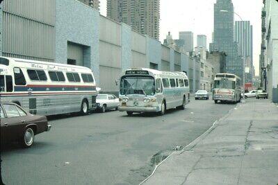 Hudson Transit GM New Look Bus Kodachrome original Kodak Slide