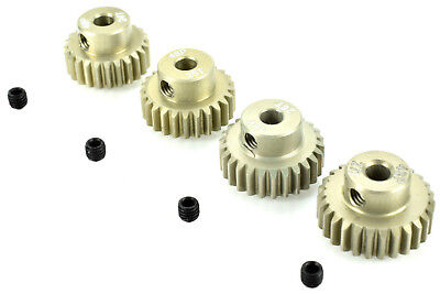 Apex Rc Products 48 Pitch 24T 25T 26T 27T Aluminum Pinion Gear Set  9752