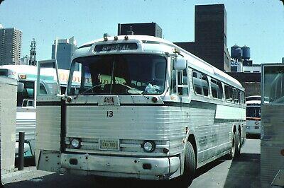 Summit Town Transit GM PD 4104 Bus Kodachrome original Kodak Slide