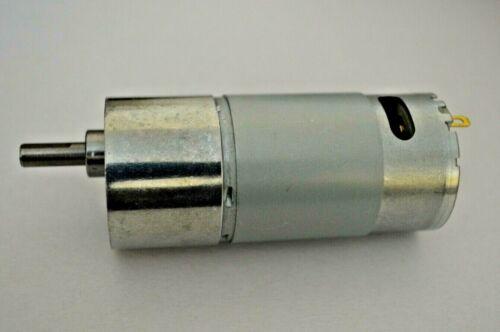 12V DC 200RPM  High Torque Gear Motor 37MM Non-Center