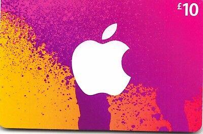 iTunes Gift Card UK £10 GBP Apple App Store Code | £10 Pound UK British English