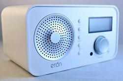 ETON SOUND RADIO AM/FM SHORTWAVE iPOD AUX LINE IN ALARM CLOCK 75Ω ANTENNA IN