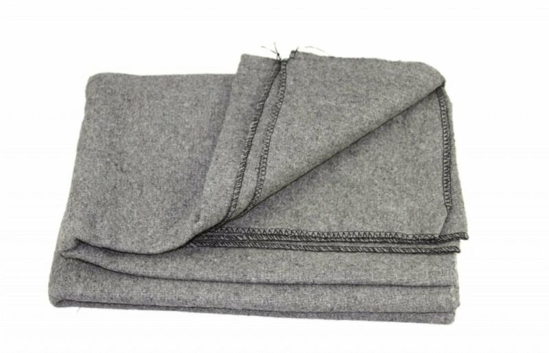 """All Purpose Utility & Camping Blanket 60"""" W X 80"""" L - Grey"""