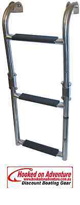 Stainless Boarding Ladders 3 Step