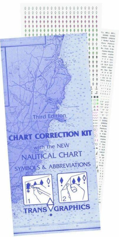 Chart Correction Kit - Free 2-Day Shipping
