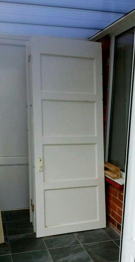 1930s 1950s Original Wooden Interior Doors In Lancing West Sussex