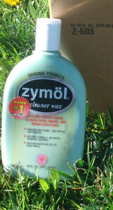 ZYMOL CLEANER WAX  16OZ   Best Shine Safe for all car Finish