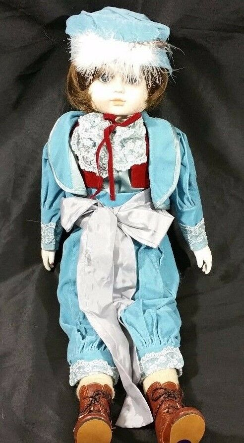 Bisque Victorian Porcelain Child Matador Doll 22