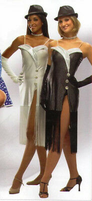 Untouchable Dance Costume WHITE ONLY Flapper Dress & Gloves Child Small & Large](Flapper Dress Dance Costume)