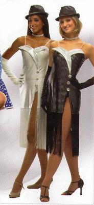 White Flapper Dress Costume (Untouchable Dance Costume WHITE ONLY Flapper Dress & Gloves Child Small &)