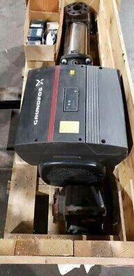 Grundfos Cre 15-8 An-gj-a-e-hqqe Vertical Multistage Centrifugal Pump 15hp 460v