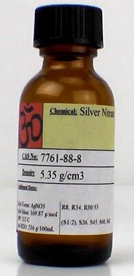 Silver Nitrate 200 Gram Large Crystals Or Powder