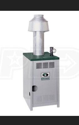 Peerless Boiler 320k Btu Gm Series Semi-commercial Gas Hot Water Gm-08-sv-wp-n