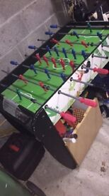 Kids football table for sale. Really good condition. Stored in dry garage.