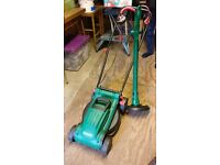 Qualcast Electric Rotary Lawnmower and/or Grass Trimmer
